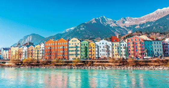 Rakouský Innsbruck: Alpská perla plná požitků