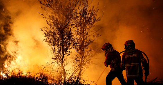 Požár - ilustrační snímek