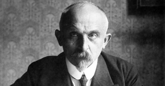 První československý ministr financí Alois Rašín.