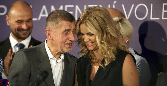 Andrej Babiš s manželkou Monikou - ilustrační snímek.