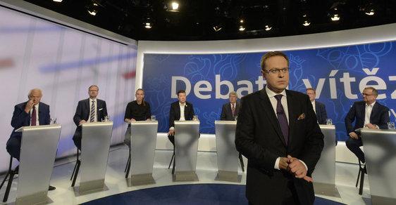 Povolební debata v ČT - ilustrační obrázek
