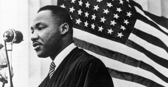 Martin Luther King usiloval o ukončení rasové segregace v USA ještě dlouho po konci otroctví