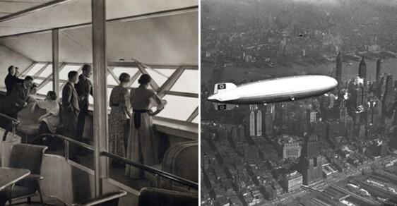 Na palubě Hindenburgu: Jak vypadalo luxusní cestování ve 30. letech minulého století?