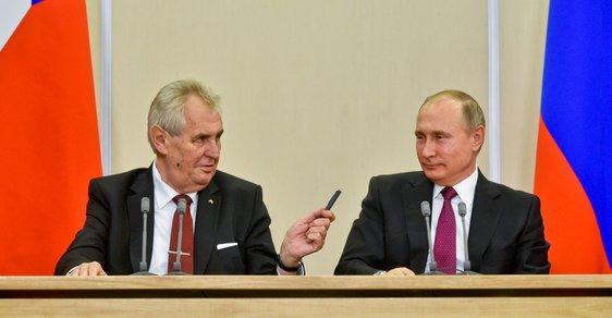 Zeman načichl ruskými mravy, pokouší se ovlivnit slovenské prezidentské volby