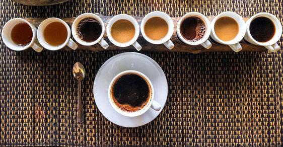 Káva, káva, káva...