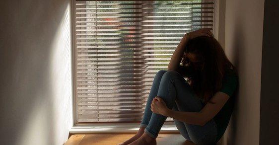 Deprese - ilustrační snímek