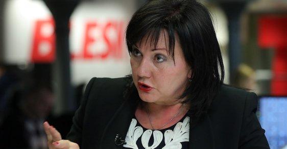 Ministryně financí Alena Schillerová zajišťovací příkazy hájí