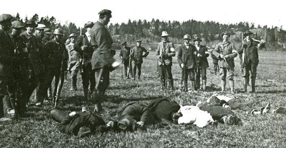 Finsko po vyhlášení nezávislosti upadlo do krvavé občanské války.