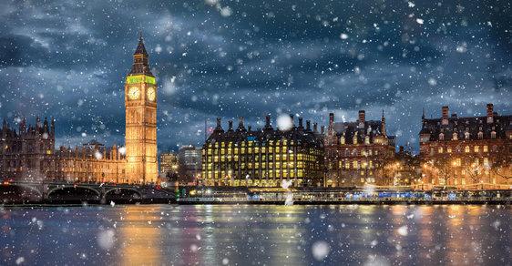 Výsledek obrázku pro londýn zima