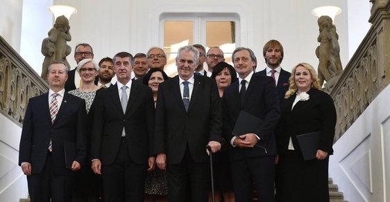 Vláda Andreje Babiše žádá poslaneckou sněmovnu o vyslovení důvěry