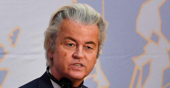 Geert Wilders v Praze