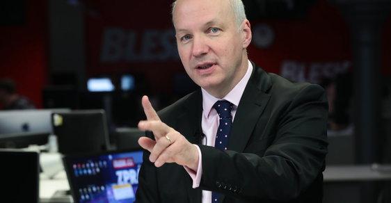 Prezidentský kandidát Pavel Fischer ve studiu Blesku