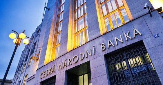 Česká národní banka zvýšila úrokové sazby