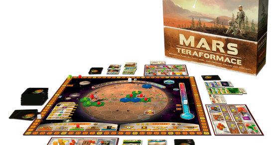 Desková hra Mars: Teraformace