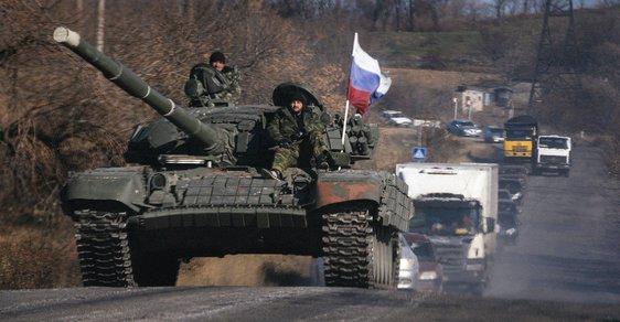 V roce 2014 přijely na východní Ukrajinu ruské tanky