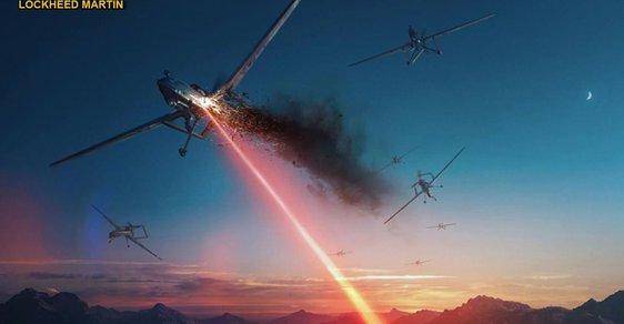 Útok lasery ze vzduchu
