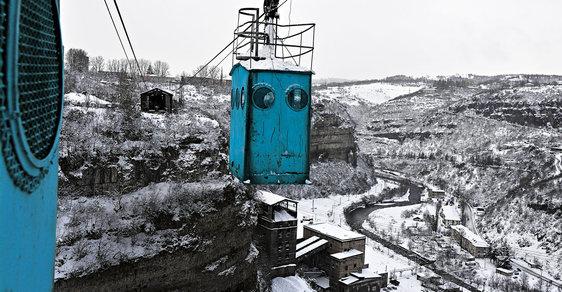 Sabagiro: Lanovky ve městě Čiatura fungují nepřetržitě již od dob Stalina