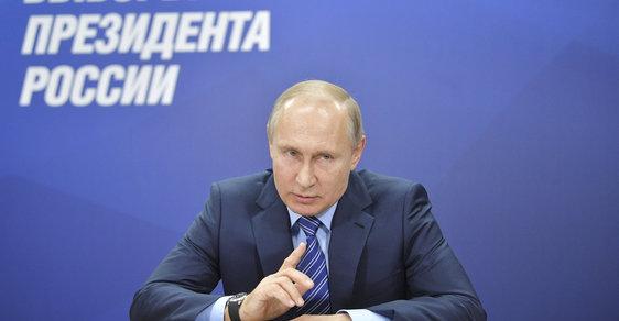 Vladimir Putin. Prezident a hlavní favorit prezidentských voleb 2018