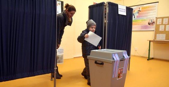 První kolo prezidentských voleb v česku