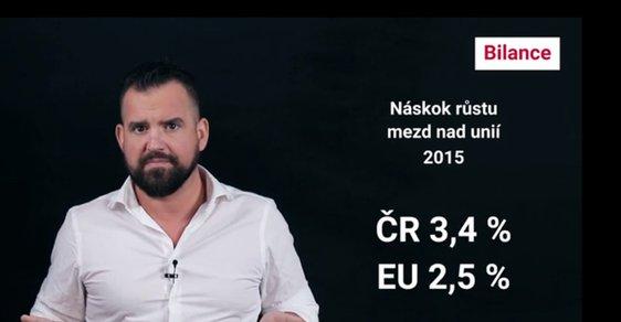Platy v Česku rostou, ale unijní mzdy jsou pro nás stále jen fantazií. Kdy se to změní?