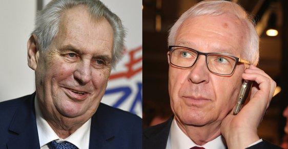 Prezidentská debata na Primě - Miloš Zeman versus Jiří Drahoš