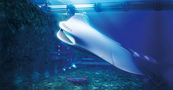 Ponorky budoucnosti britského námořnictva: Nautilus jako rejnok nebo průzkumný Úhoř