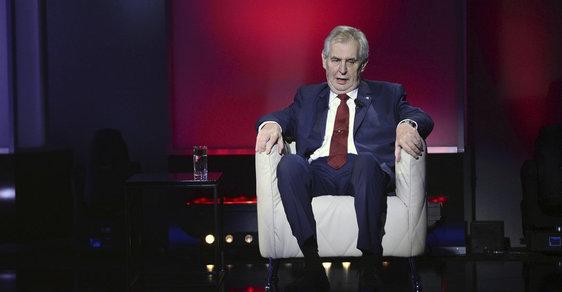 První televizní duel mezi Jiřím Drahošem a Milošem Zemanem na televizi Prima