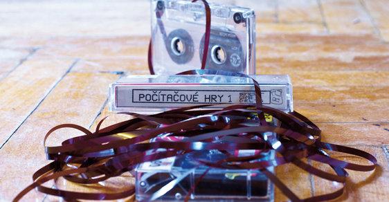 Kazety byly nejpoužívanějším záznamovým médiem
