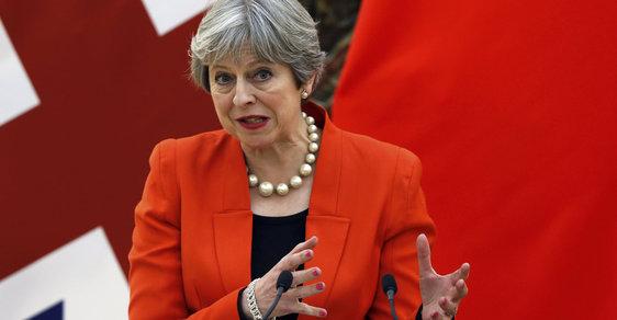 Britská premiérka Theresa Mayová řekla, že za smrtní agenta Skripala je Rusko