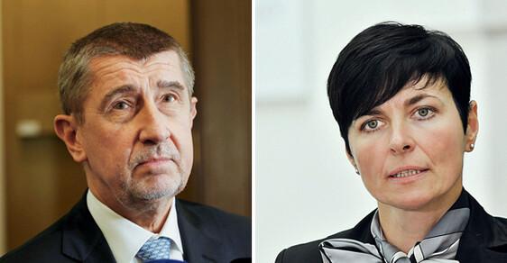 Premiér Babiš a vrchní státní zástupkyně Bradáčová