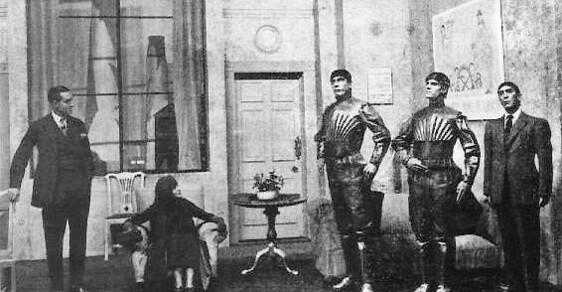 Robot, české slovo, které dobylo svět. Před 80 lety BBC poprvé odvysílala Čapkovo R.U.R.
