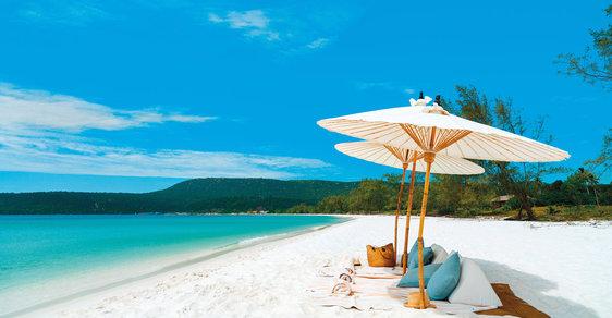 Víte jaké jsou kambodžské pláže? Skvostné a skoro prázdné!