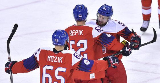 Česko vs. Švýcarsko 4:1. Vítězství našich hokejistů na olympiádě jsme komentovali živě