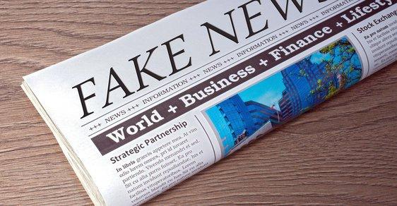 Fake news - Ilustrační foto