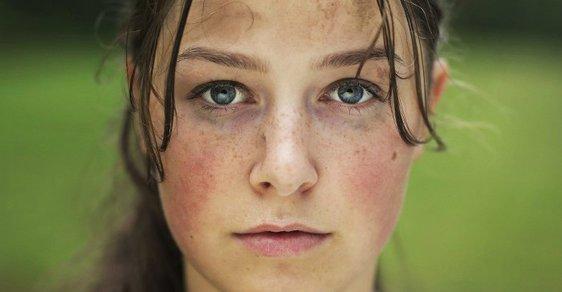 Foto z filmu Utøya s herečkou Agnete Brun.