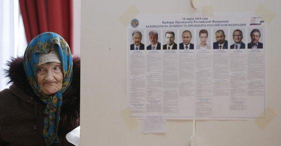 Rusko znovu zvolilo Putina, prezident dostal rekordní počet hlasů. Volby jsme sledovali online