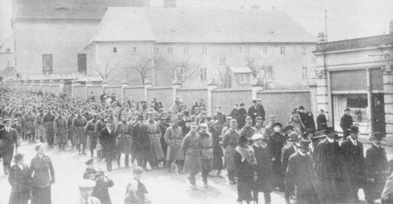Jedenadvacátého května 1918 došlo v severočeském Rumburku k protiválečnému vystoupení českých vojáků náhradního praporu 7. střeleckého pluku rakousko-uherské armády.
