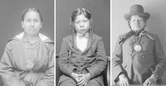 Přizpůsob se, nebo zemři. Unikátní fotografie indiánů, kteří byli nuceni se začlenit do bělošské společnosti
