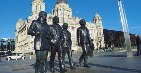 Kulturní centrum s bohatou historií. To je Liverpool, město Brouků