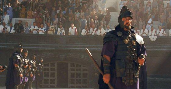 Pretoriánská garda byla plná elitních válečníků historie. Na obrázku Pretoriáni ve filmu Gladiátor