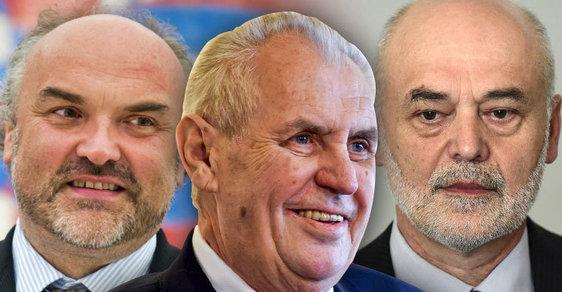 Zeman nepodepsal Fajtův a Ošťádalův jmenovací dekret na jaře 2015 ještě společně s dekretem politologa Jana Eichlera. Zdůvodnil to vážnými prohřešky akademiků z minulosti