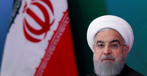 Íránský prezident Ruhání