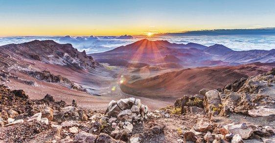 Havajské souostroví: Ostrovy plné přírodních krás a nespoutaných živlů
