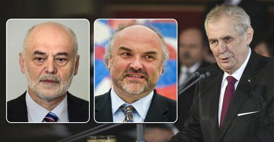 Prezident Miloš Zeman nerespektuje soud. Profesory nejmenuje