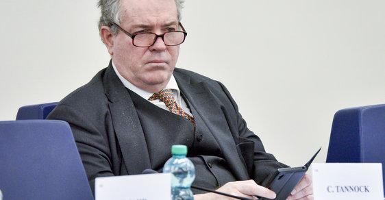 Britský europoslanec Charles Tannock