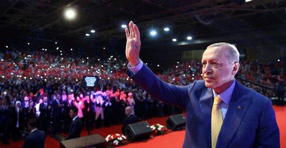 Setkání tureckého prezidenta Erdogana s evropskými Turky v Sarajevu