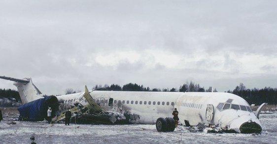 Den po havárii letadla pilotovaném Stefanem Rasmussenem