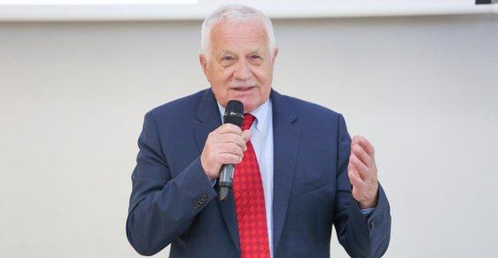 Václav Klaus - ilustrační snímek