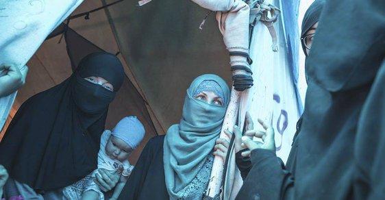 Ženy džihádistů - ilustrační foto
