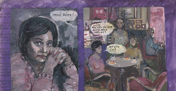Komiksové ceny jsou obnoveny, Ester Geislerová rozdá Muriel